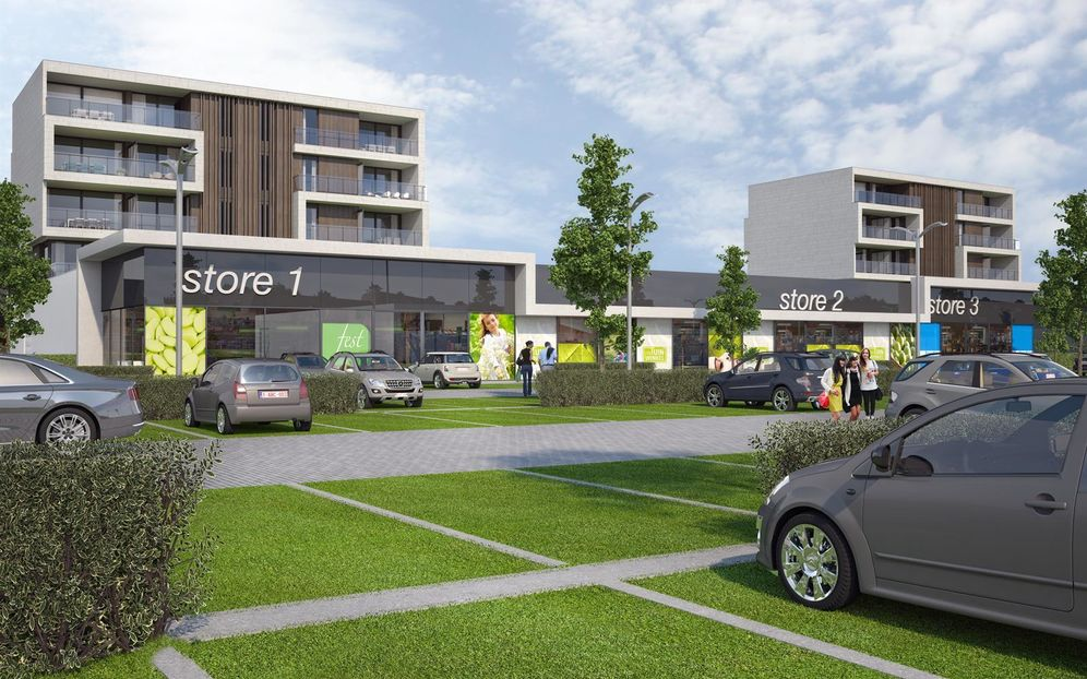 Shopping center for rent in Bree